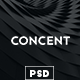 Concent - MultiPurose Business Art Photography PSD Template