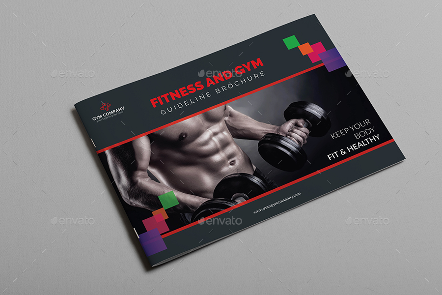 Fitness And Gym Guideline Brochure Template By AlMamun  Graphicriver