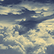 Flying In Clouds - VideoHive Item for Sale