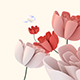 Butterfly Flying Over Flowers  - VideoHive Item for Sale