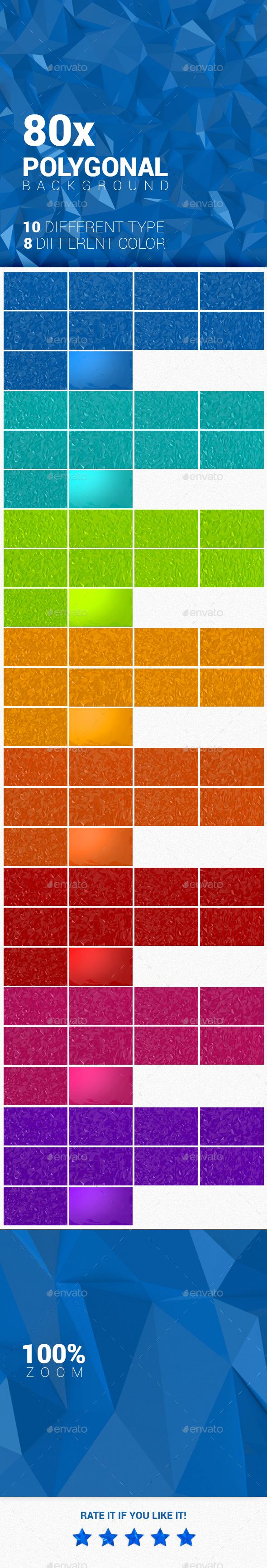 5k Polygonal backgrounds - Backgrounds Graphics