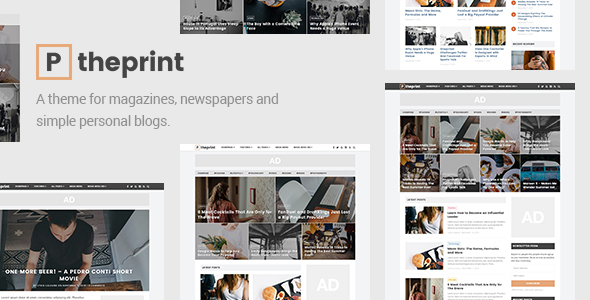 The Print – A Theme for Magazines and Simple Blogs