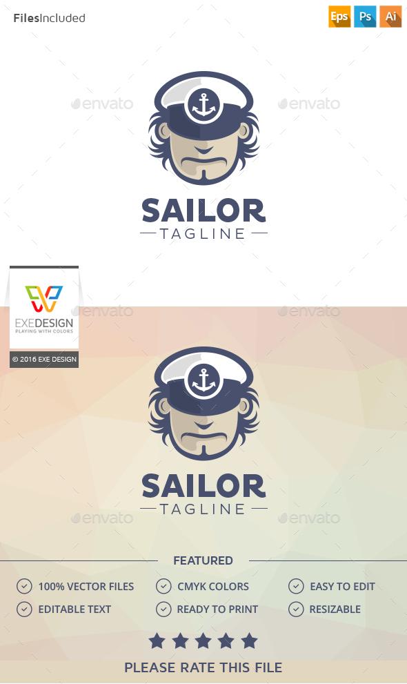 Sailor Logo - Humans Logo Templates