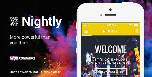 Nightly Mobile | The Ultimate Mobile Theme