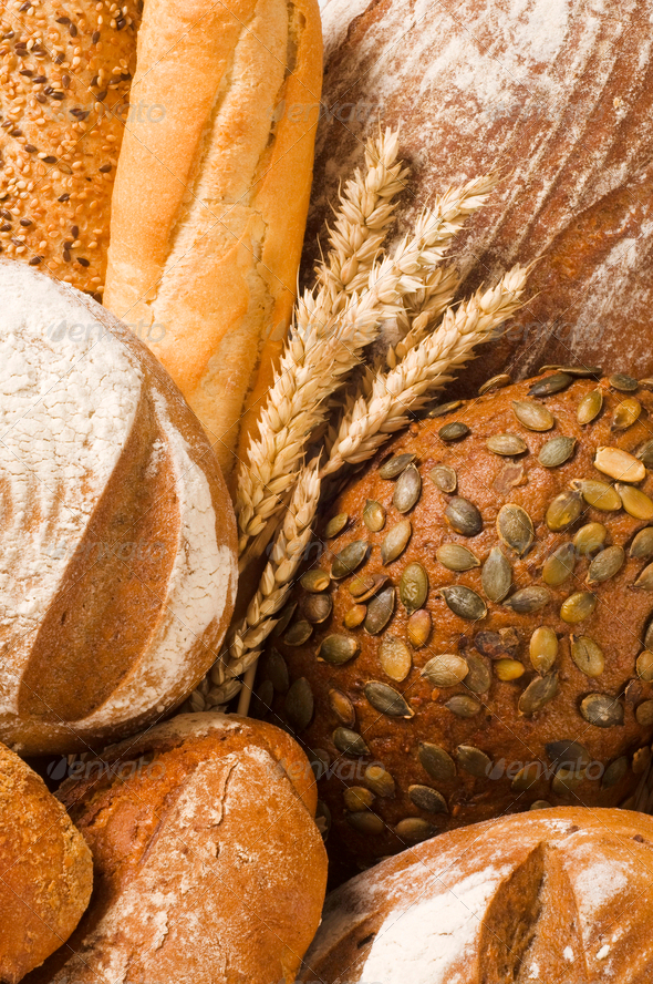 Fresh bread - Stock Photo - Images