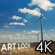 Field of Windmills - VideoHive Item for Sale