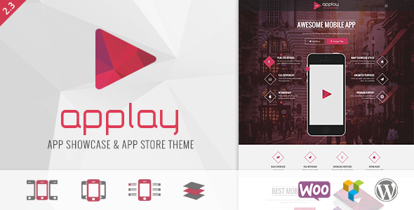 Wordpress App Showcase - App Store Theme