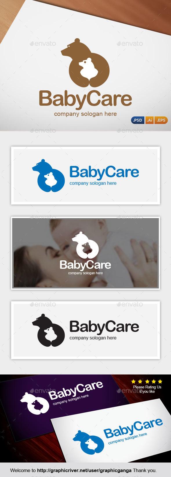 BabyCare - Abstract Logo Templates