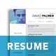 A4 Modern Resume 2 - GraphicRiver Item for Sale