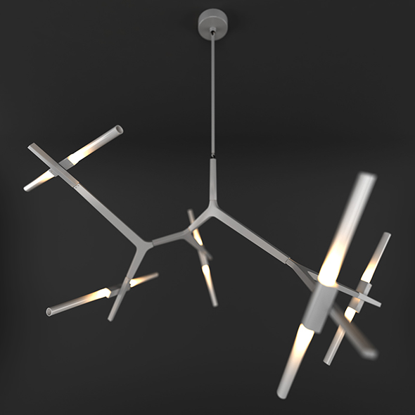 Agnes Chandelier 3D model - 3DOcean Item for Sale