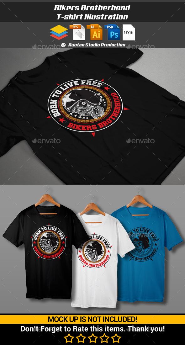 Bikers Brotherhood - Sports & Teams T-Shirts