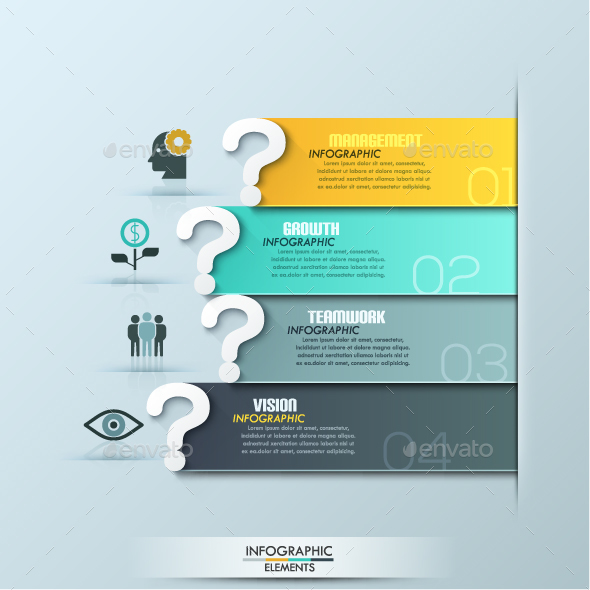 questions infographic template by andrew kras graphicriver