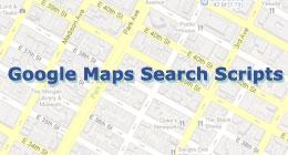 Google Maps Search Scripts