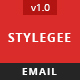 Stylegee - Ecommerce Email Template - GraphicRiver Item for Sale
