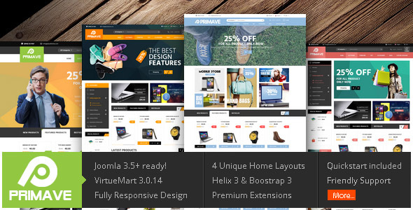 Vina Primave – Multipurpose Joomla Virtuemart Template