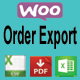 WooCommerce Order Export