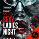 Sexy Ladies Night Flyer Template - GraphicRiver Item for Sale