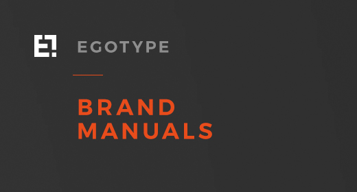 Egotype Brand Manual