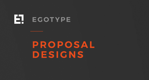 Egotype Proposal Design