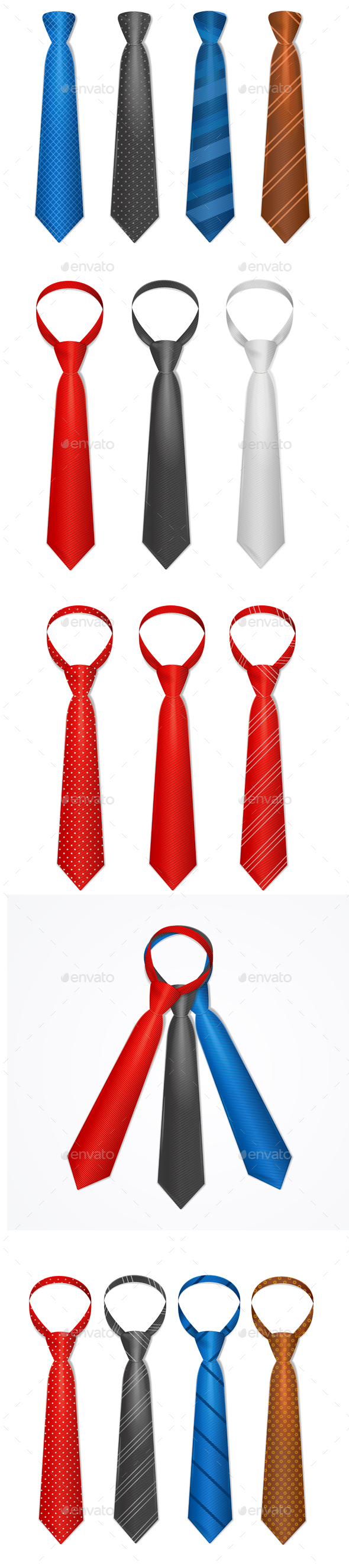 Tie Set - Man-made Objects Objects