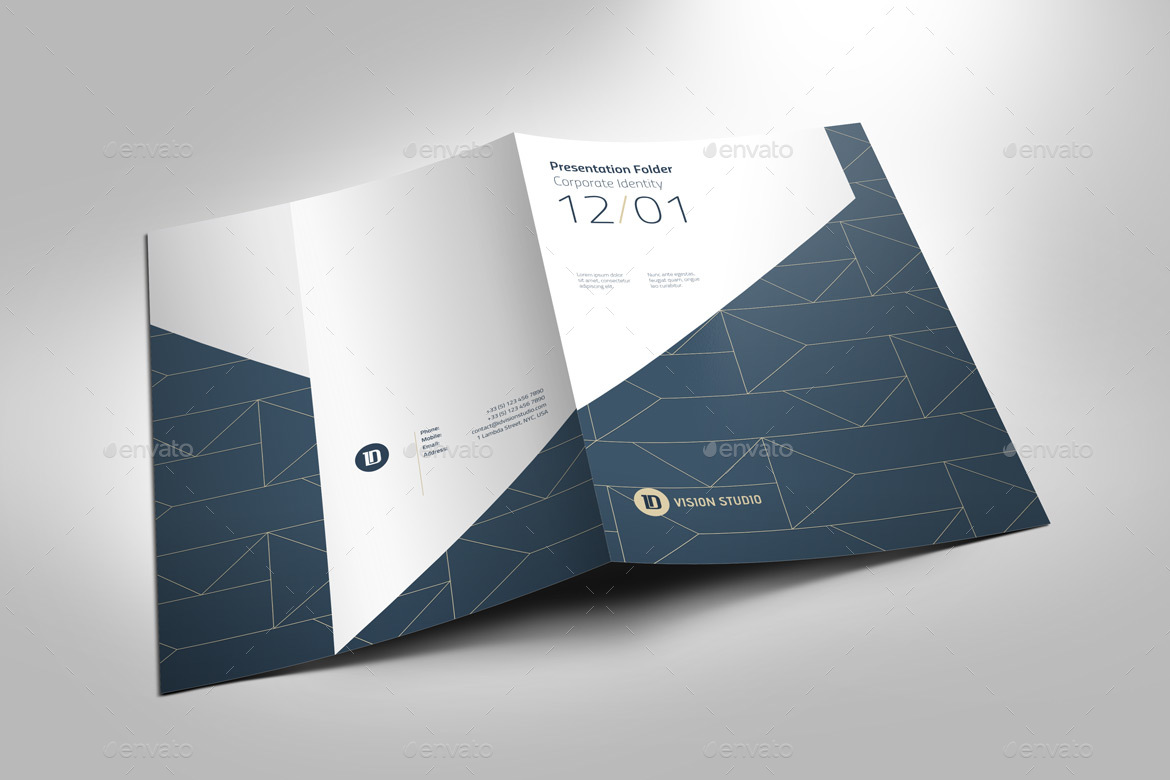 presentation folder template 005 by id vision studio