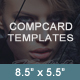 Comp Card Templates - GraphicRiver Item for Sale