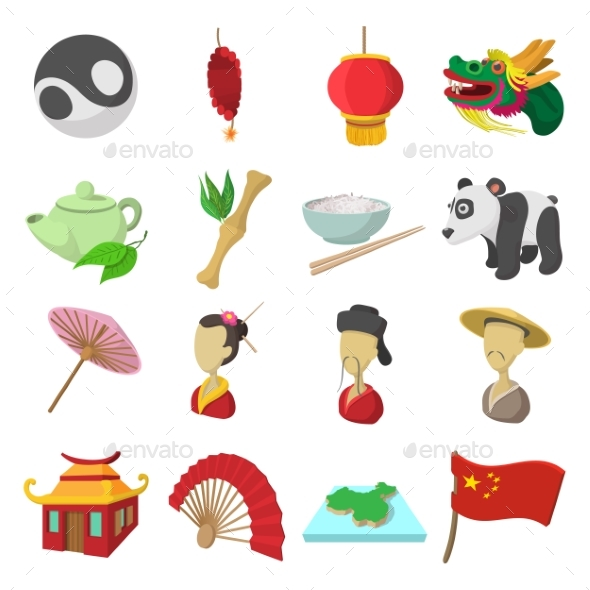 China Cartoon Icons - Miscellaneous Icons
