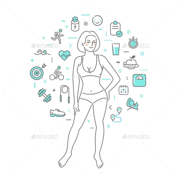 Concept of Healthy Lifestyle - Health/Medicine Conceptual
