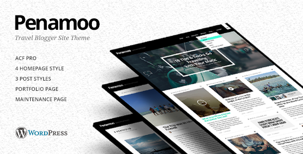 Penamoo – WordPress Travel Theme for Travel Blogs