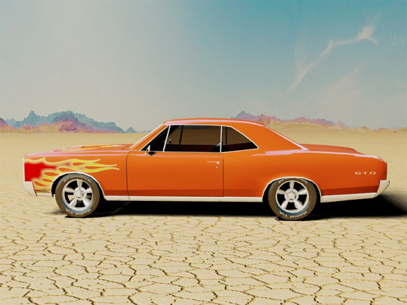 Pontiac GTO 1966 - 3DOcean Item for Sale