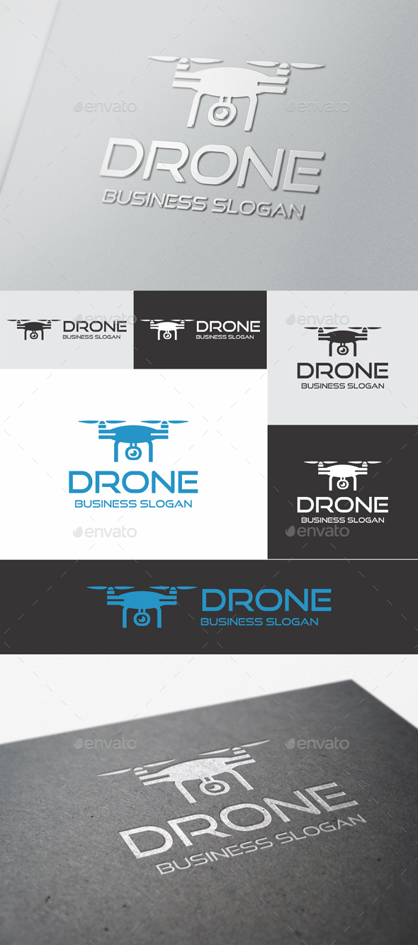 Drone - Objects Logo Templates