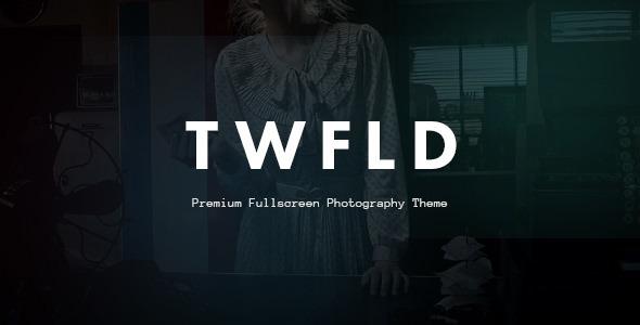 TwoFold – Premium Fullscreen Photography Theme