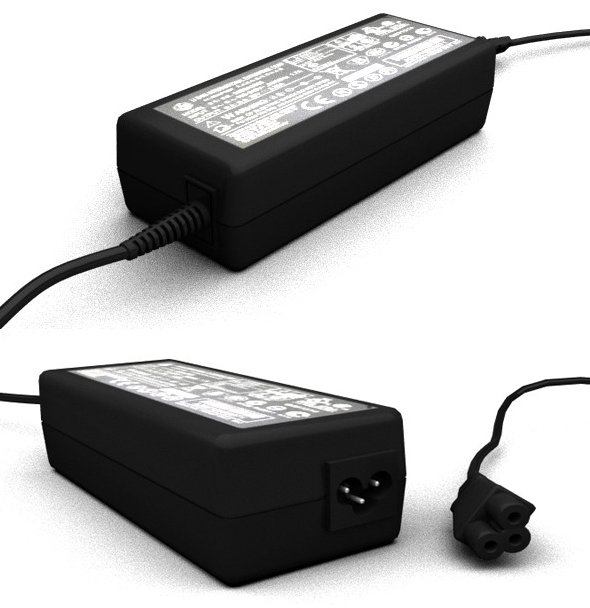 Laptop power supply - 3DOcean Item for Sale