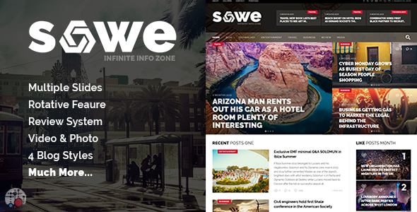 Sowe – Future Magazine WordPress Theme