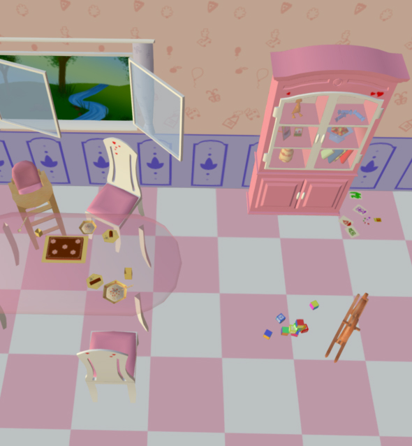 Room Like For Barbie - 3DOcean Item for Sale