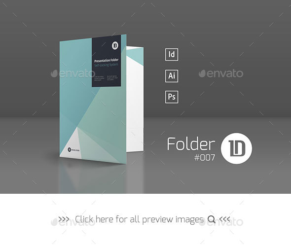 Presentation Folder Template 007 By Idvisionstudio Graphicriver