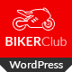 Biker Club - WordPress theme - ThemeForest Item for Sale