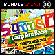 Kids Summer Camp Bundle - GraphicRiver Item for Sale