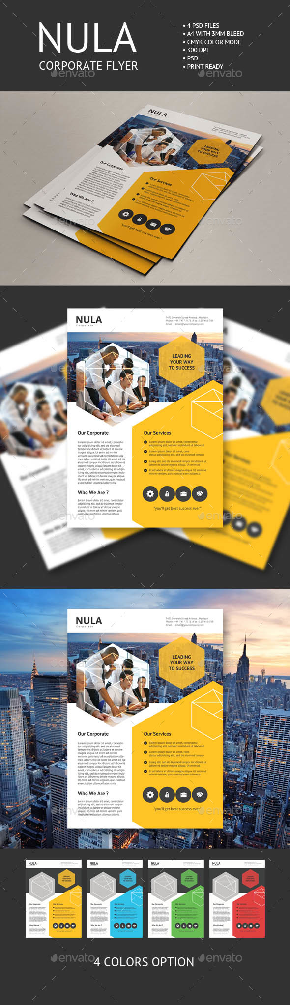 Nula Corporate Flyer - Corporate Flyers