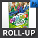 Summer Camp Roll-up Template - GraphicRiver Item for Sale