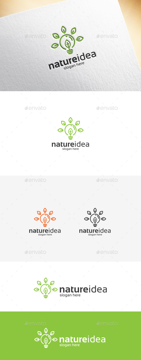 Nature Idea Logo Template - Symbols Logo Templates