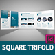 Corporate Square Trifold Business Brochure  - GraphicRiver Item for Sale