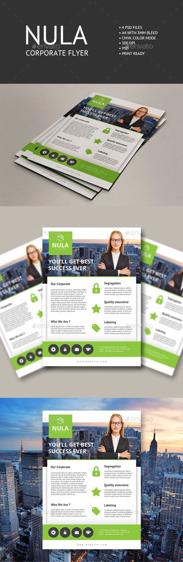 Nula Corporate Flyer 2 - Corporate Flyers