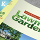 Lawn & Landscaping Trifold and Bifold  Brochure Templates