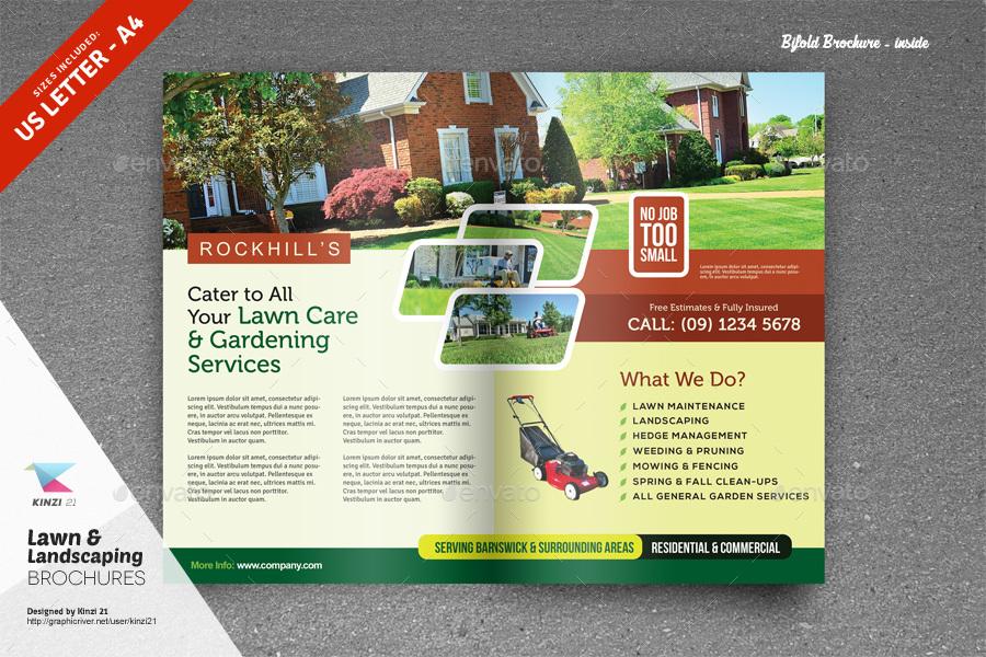 Free Landscape Flyer Templates Akbaeenw