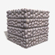 Moulded Stone Bricks Seamless Texture