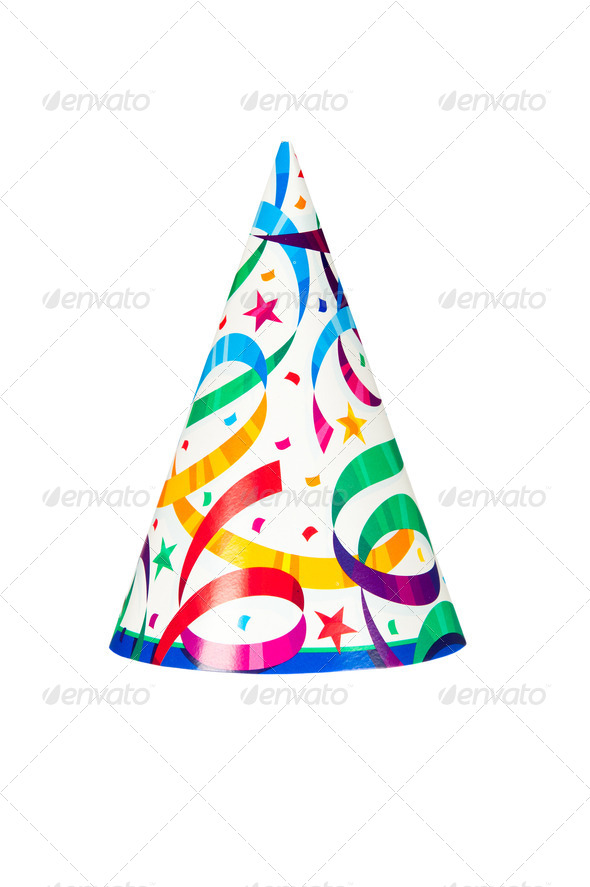 Party hat - Stock Photo - Images