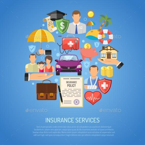 Insurance Services Concept - Health/Medicine Conceptual