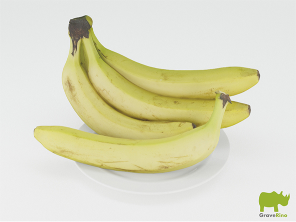 Bananas 3D Model - 3DOcean Item for Sale