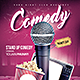 Stand Up Comedy - GraphicRiver Item for Sale